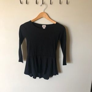 Simple peplum